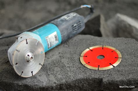 Pemotong Batu Alat Pahat Batu Alam Merapi Cutter Pemotong Listrik