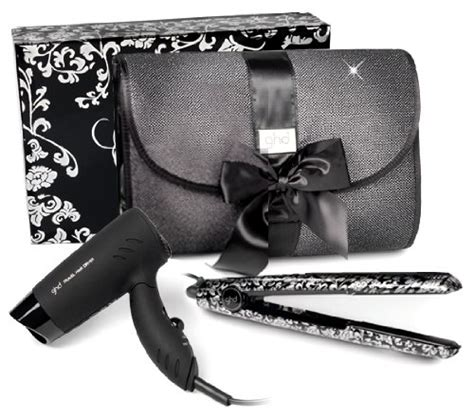 Hair Dryer And Straightener Bag ghd gift sets with hairdryer gift ftempo