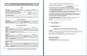 sample medical consent form printable medical forms