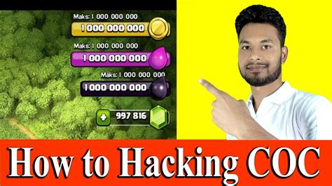 how to mod coc game how to hack coc clash of clans game by technical