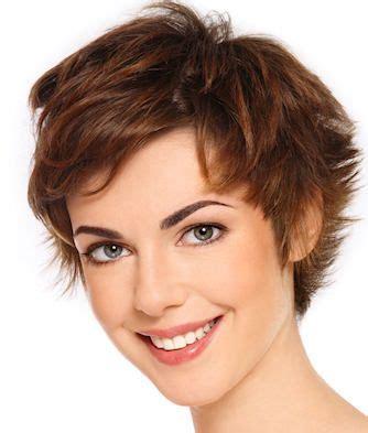 choppy chestnut brown pixie cut hair short hair