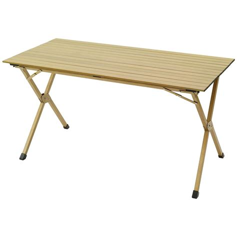 Kelty 174 Deluxe Roll Top Table Gold 217947 Tables At Roll A Table