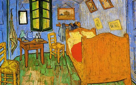 the bedroom van gogh painting wallpaper van gogh animaatjes 2 wallpaper