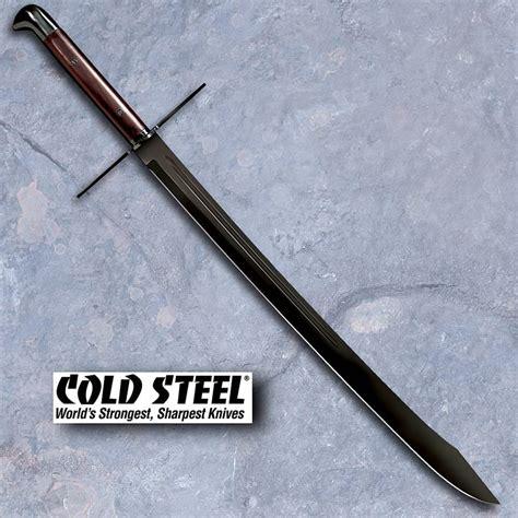 grosse messer sword cold steel at arms grosse messer sword