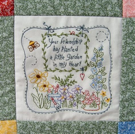 Quote Quilt by Quilters Friendship Quotes Quotesgram