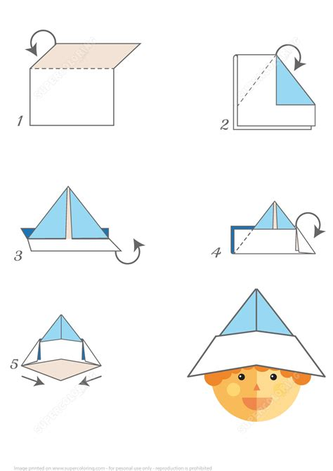 how to make a paper boat hat instructions how to make an origami paper hat step by step instructions