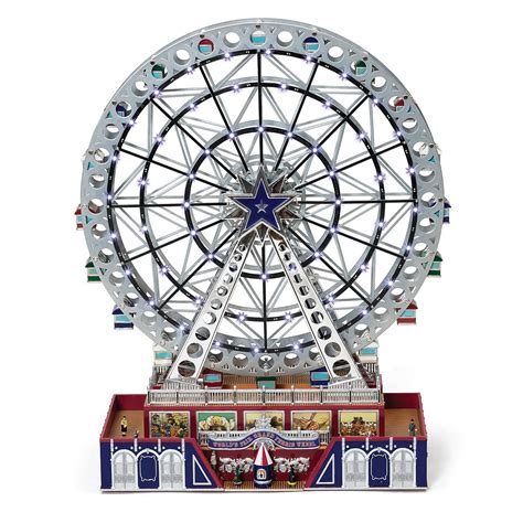 mr christmas world s fair platinum grand ferris wheel