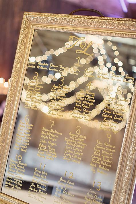 Creative Wedding Seating Plan Ideas   CHWV