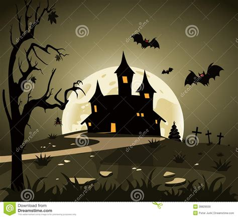 halloween themes vector halloween theme stock vector image 38829559