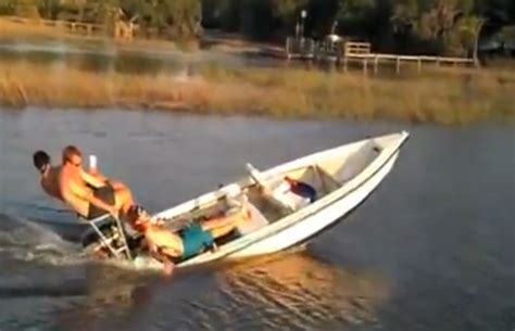speed boat fails boat fail don t lend your boat to teenagers motor boat