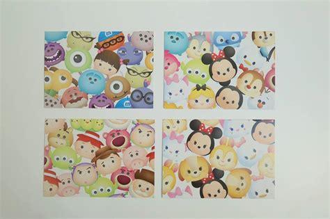 Tsum Tsum Navy octopus card sticker satu sticker