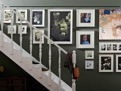 como decorar la sala con fotos ideas para decorar la pared de la escalera casa web