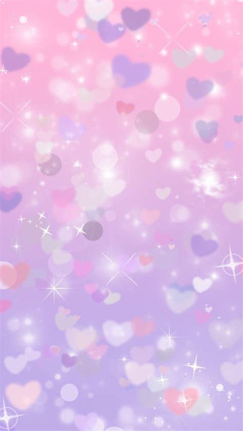 wallpaper for iphone 5 heart glitter purple hearts cocoppa iphone wallpaper iphone