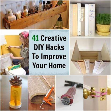 home hacks diy 41 super creative diy hacks ideas to improve your home
