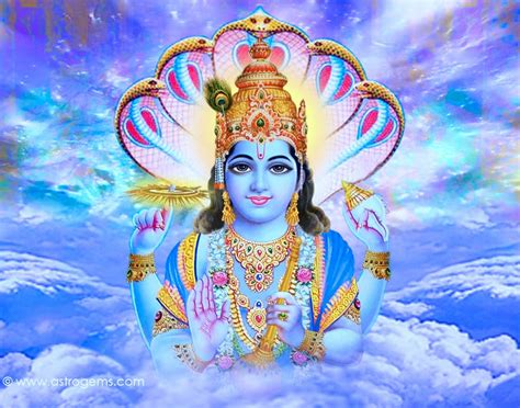about lord vishnu thought temples