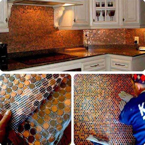 Diy Kitchen Backsplash Tile Ideas 25 New Diy Ways To Invest Your Pennies Oddly Beautiful Craft