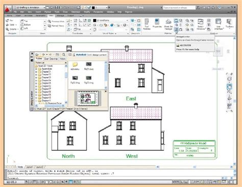 design center window autocad blocks and inserts part 2 autocad 2011