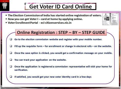 voter id card get voter id card consumer resources