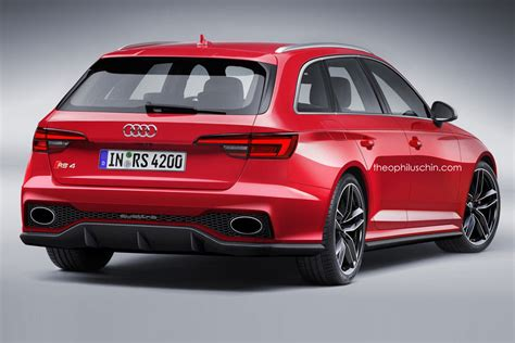 Audi Rs4 B9 by Erste Vom Neuen Audi Rs4 Avant B9