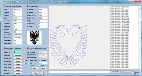 Drawing G Code by Cnc G Code Generator Graphic Outline To G Code Cnc G