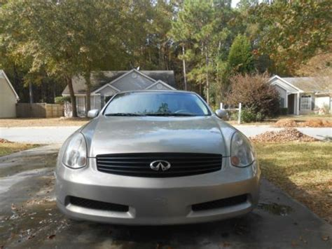 buy used infiniti g35 coupe buy used 2003 infiniti g35 coupe sport 6mt brembos rays