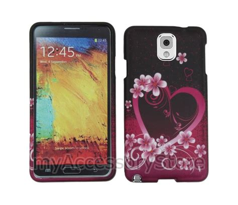 Hardshell For Samsung Galaxy Note 3 samsung galaxy note 3 iii flower design slim shell phone cover ebay