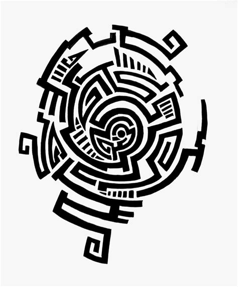 maze tattoo designs design maze by feleri on deviantart