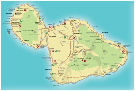 printable road map maui hawaii map of maui pictures to pin on pinterest pinsdaddy