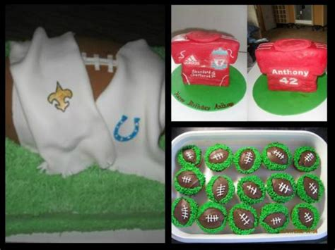 Football Cake Decorating Ideas by Football Cakes Http Www Cake Decorating Corner