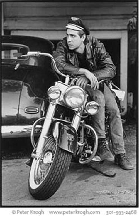 advertising photography 50's biker portrait