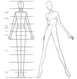 Fashion model drawing templates fashion belief