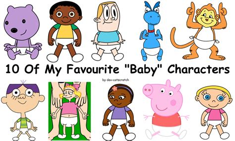 7 Of My Favourite Literary Characters by 10 Of My Favourite Baby Version Characters By Dev