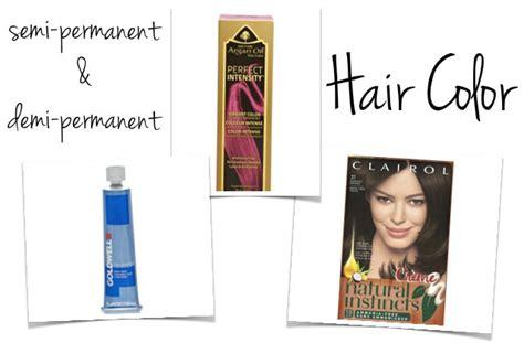semi permanent hair color brands 2017 s best semi demi permanent hair color dye and