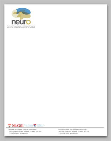 neuro media the neuro letterhead