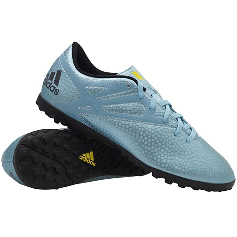 football shoes with studs adidas messi 15 4 tf blue s football shoes multi studs
