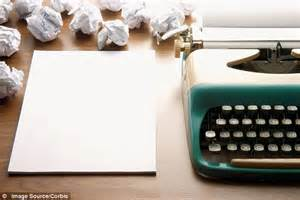 Writers block and give your imagination a boost daily mail online