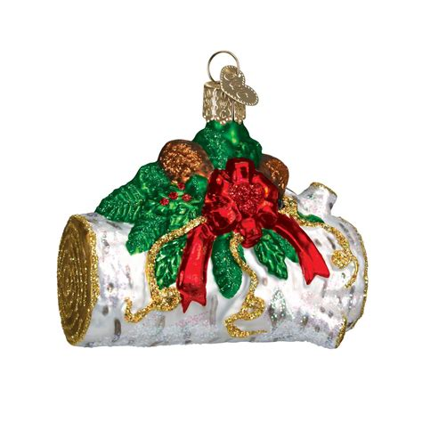 yule log ornament traditions