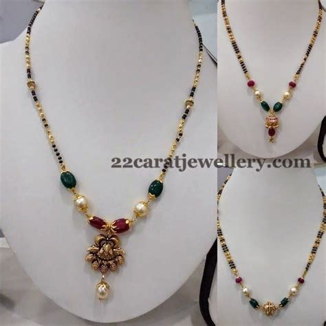 black necklace designs india 417 best mangalsutras images on bead jewelry