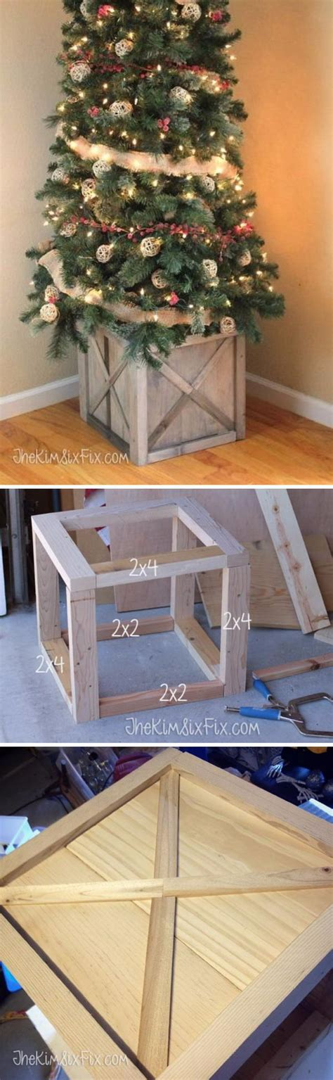 diy replacement tree stand 30 creative tree stand diy ideas hative