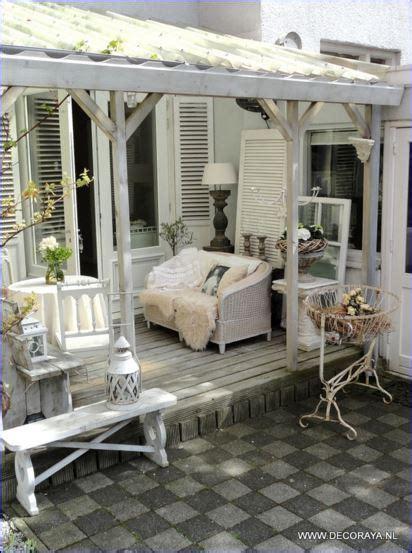 veranda shabby chic idee in vetrina shabby chic per arredare una veranda o un