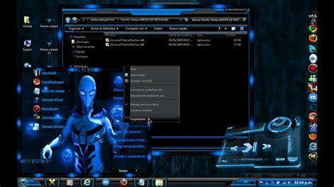 alienware theme for windows 7 kickass tema alienware para windows 7 2012 youtube