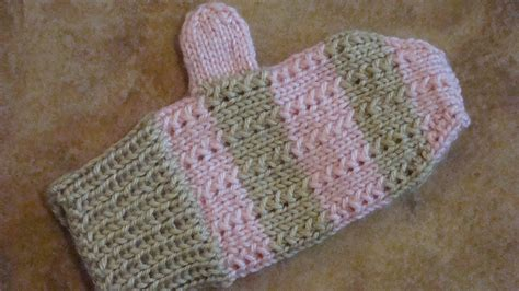 knitting pattern mittens 1 year old knit mittens