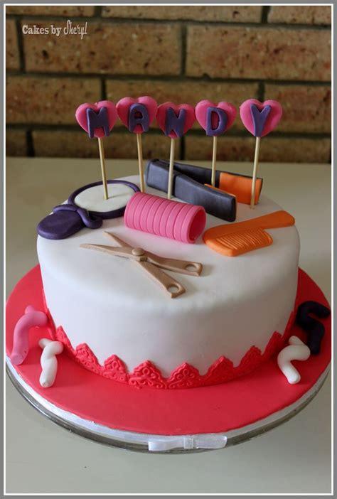 hairdresser cake ideas hairdresser themed cake prof cakes pinterest