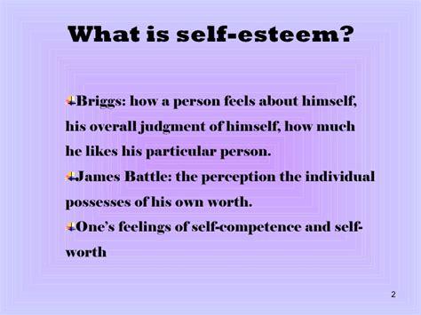self esteem - What Is Selves