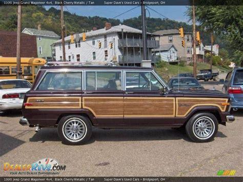 1990 Jeep Grand Wagoneer 1990 Jeep Grand Wagoneer 4x4 Black Cherry Metallic