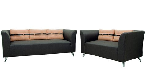 steel sofas online buy adelia three seater sofa in steel grey colour by