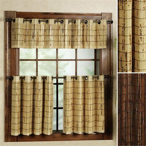 vorhänge rustikal 33 bambus deko ideen f 252 r ein zuhause mit fern 246 stlichem flair