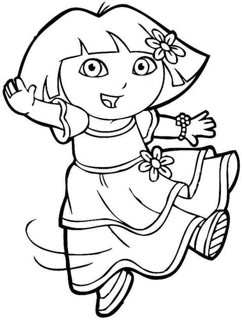 baby dora coloring pages angry elephant cartoon free download clip art free