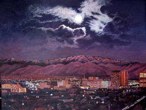 paint nite abq albuquerque new mexico skyline at painting