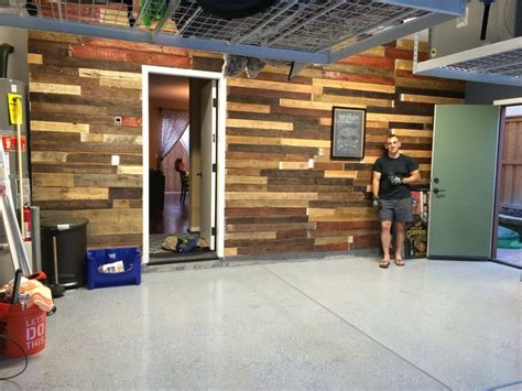 Garage Storage With Pallets Garage Pallet Wall Garage Pallets Pallet